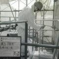火力発電所の塗装工事05