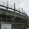 千代台公園野球場外壁塗装工事1