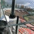 千代台公園野球場外壁塗装工事2