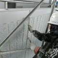 千代台公園野球場外壁塗装工事3