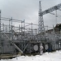変電設備の塗装工事04