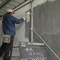 函館市立上湯の川小学校階段室改修工事01